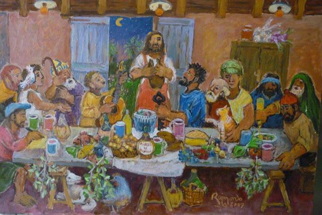 L'ultima cena con il Rossese di Dolceacqua