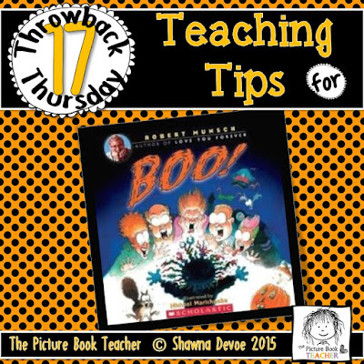 Boo! by Robert Munch TBT - Teaching Tips.