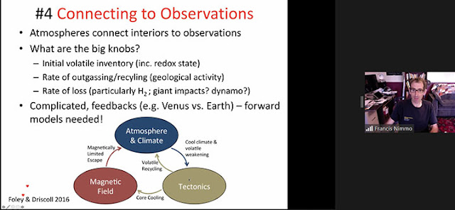 Connecting the observations and importance of magnetic fields (Source: Francis Nimmo, Habitable Worlds 2021)