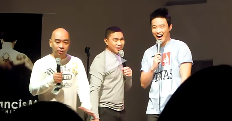 Jose Manalo, Wally Bayola and Ryan Bang's hilarious comedy skit at Zirkoh Bar