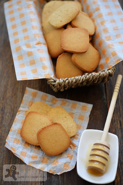 crispy chewy honey cookies