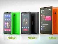 Spesifikasi Nokia X, X+, XL Smartphone Android Nokia