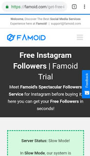 Famoid Free Followers Instagram