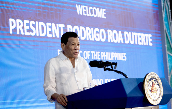 Republic of the Philippines President, Rodrigo Roa Duterte
