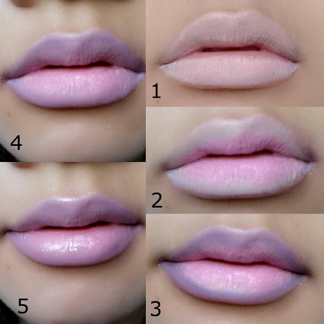 How to Create Ombre Lips Using Eyeshadow