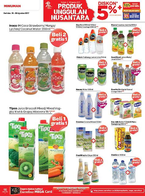 Katalog Brosur Promo Carrefour Edisi 16 Agustus 2017 Sampai 29 Agustus 2017 Pulau Jawa
