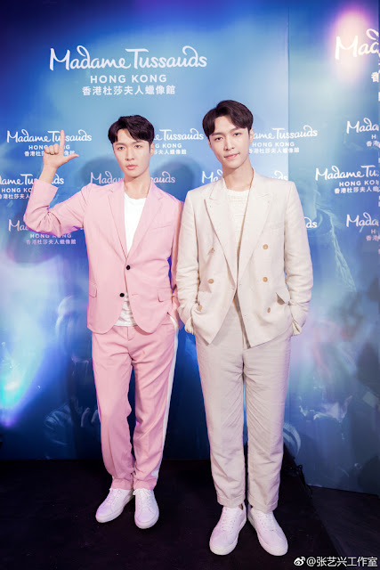 Zhang Yixing Lay 3rd wax figure
