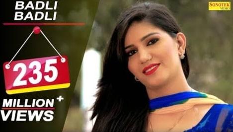 Badli Badli Lage Lyrics, Tarun Panchal, Ruchika Jangid, Sapna Choudhary