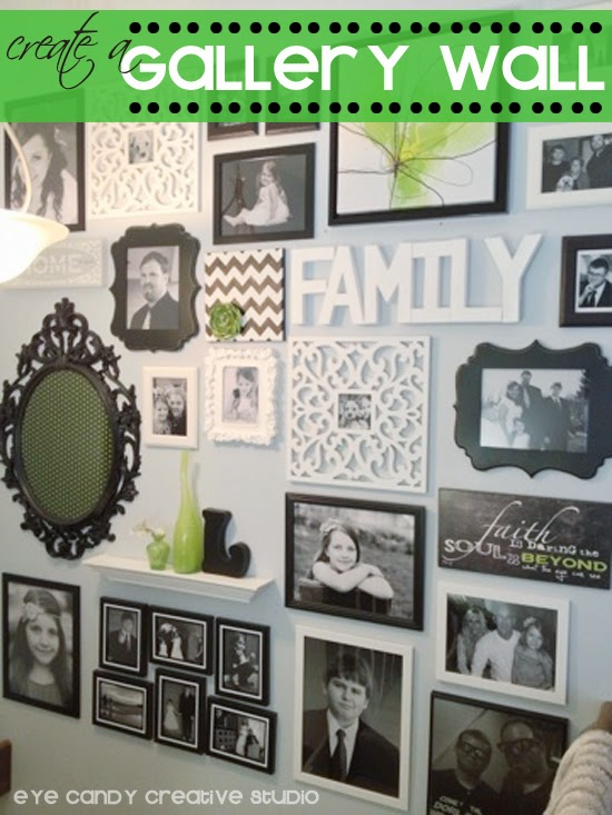 home|made, creating a gallery wall, tips for making a gallery wall, photo gallery