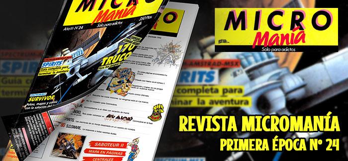 Revista Micromanía Primera época Nº 24 (1987)
