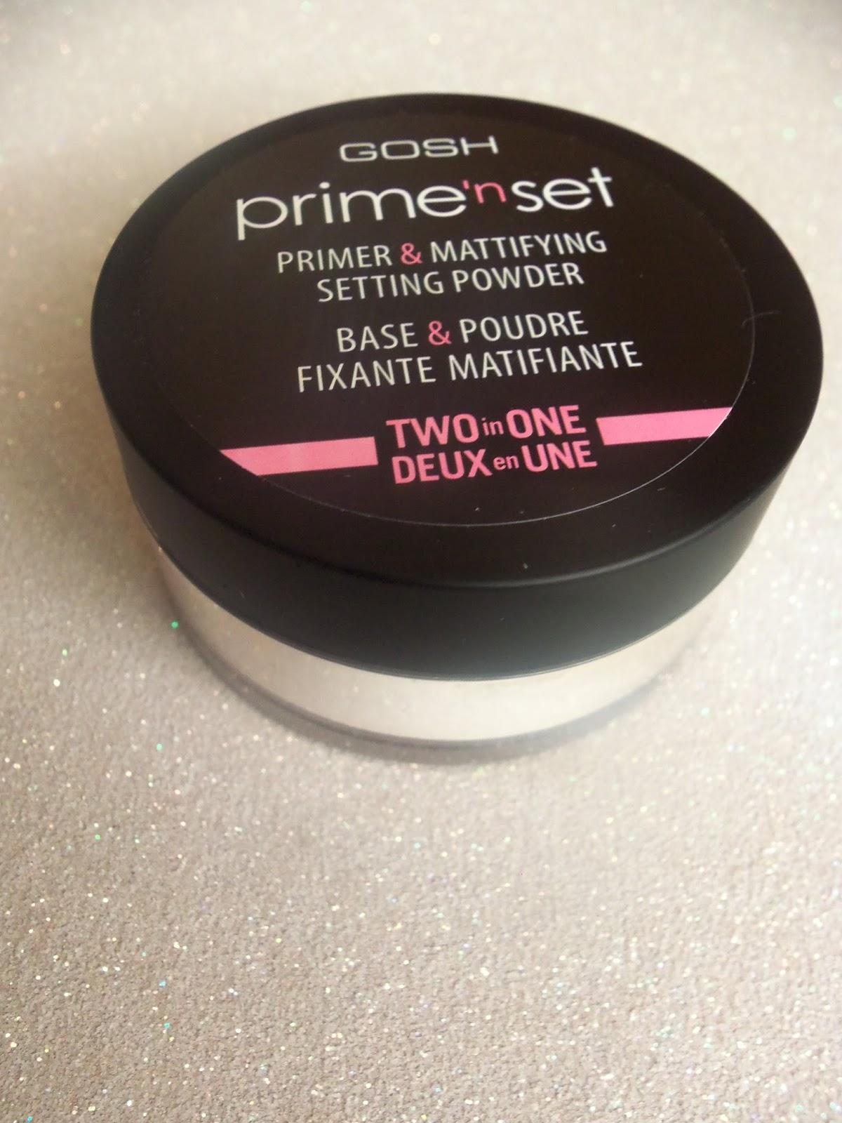 Gosh Prime'n Set Primer Mattifiying Setting Powder