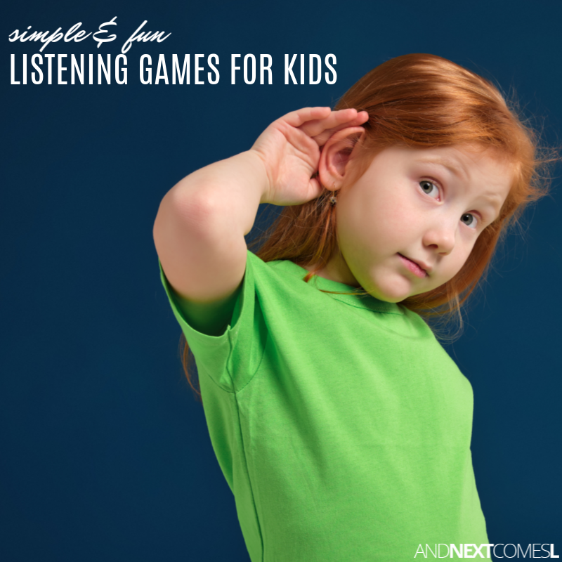 Simple & Fun Listening Games for Kids   And Next Comes L