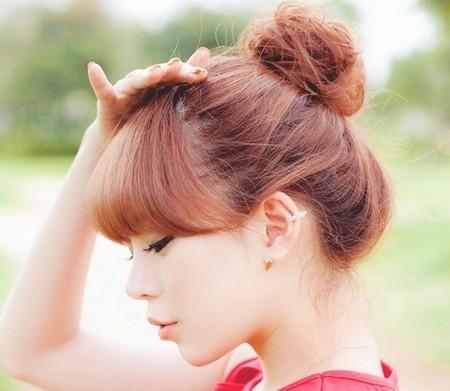 tren mengikat rambut ala Korea
