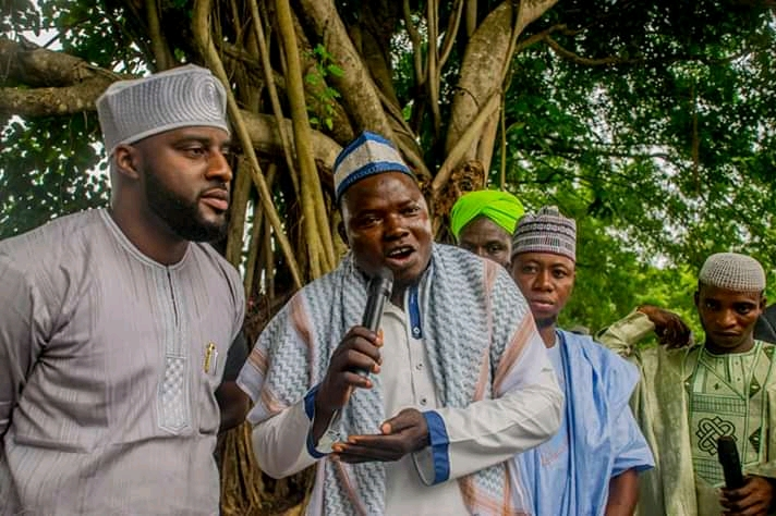 Oyo State Speaker Rt Hon Ogundoyin Adebo Celebrates Eid Al Adha With His Home Town People in Eruwa also Prays With Them See Photos5