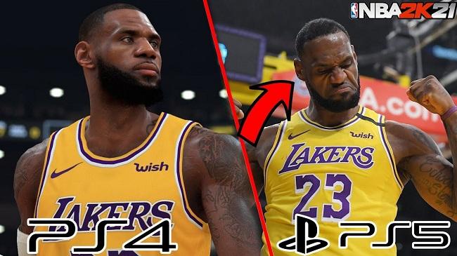 NBA 2K21 Graphics on PS4 & PS5