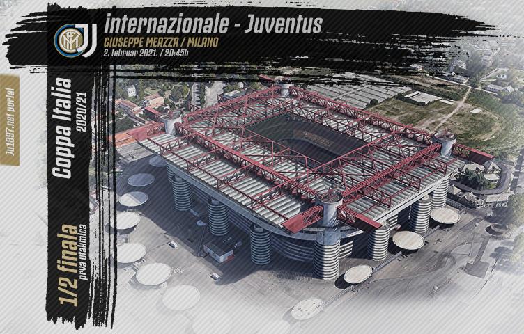 Coppa Italia 2020/21/ 1/2 finala / inter - Juve, utorak, 20:45h