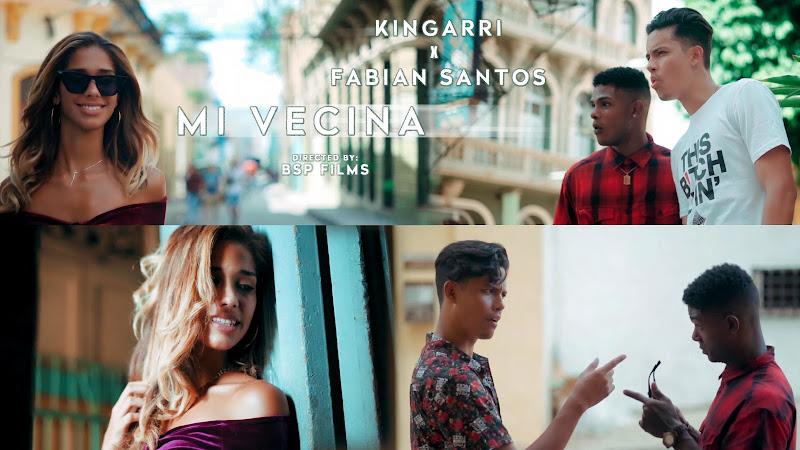 Kingarri & Fabian Santos - ¨Mi Vecina¨ - Videoclip - Director: BSP Films. Portal Del Vídeo Clip Cubano