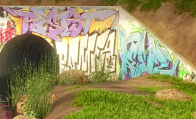 Pixar Loop Paul Abadilla graffiti