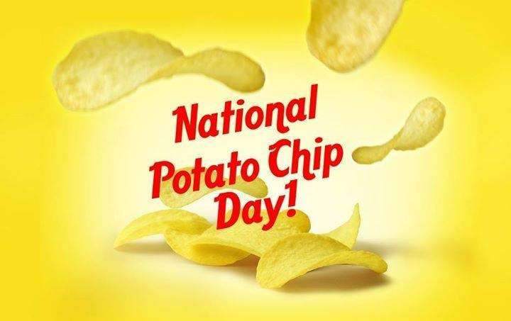 National Potato Chip Day Wishes Unique Image