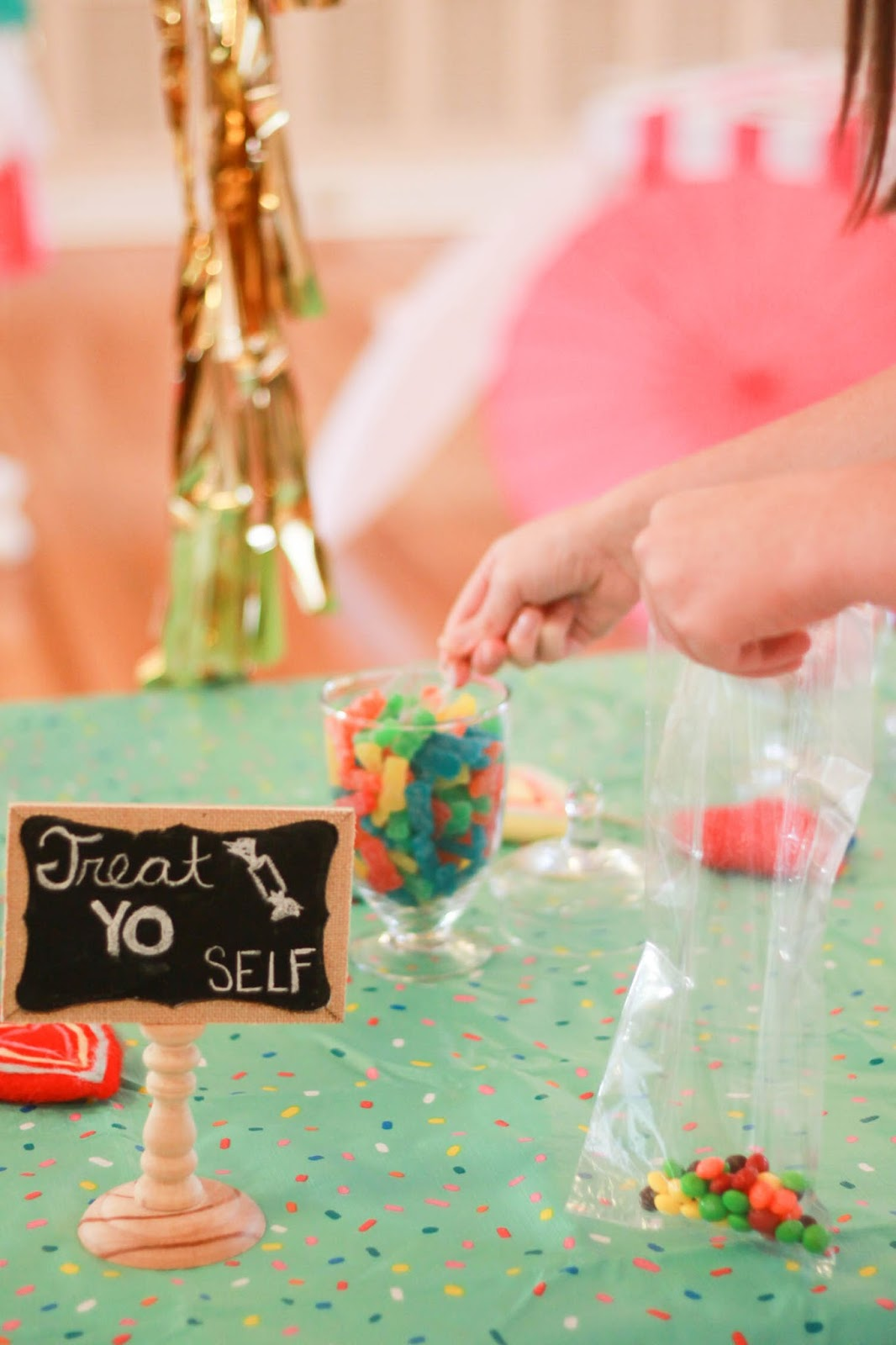 diy candy station