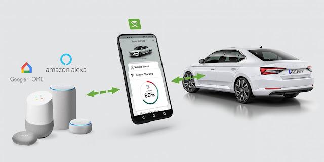 skoda-presenta-carga-remota-sus-vehiuclos-electricos-amazon-alexa