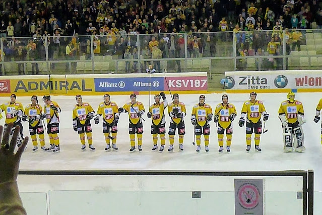 Vienna in December: Vienna Capitals Ice Hockey match