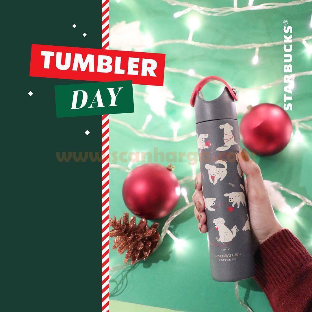 Starbucks Tumbler Day - Beli Minuman cuma Setengah Harga*