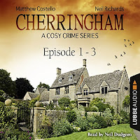 Audiobook cover for Cherringham Compilation 1-3