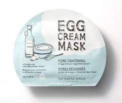 Too Cool For School Egg Cream Mask (pore tightening)