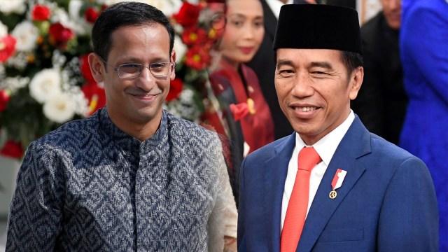 """Pengamat: Ada Dugaan Sebuah Kekuatan Besar """"Paksa"""" Jokowi Pertahankan Nadiem Makarim"""