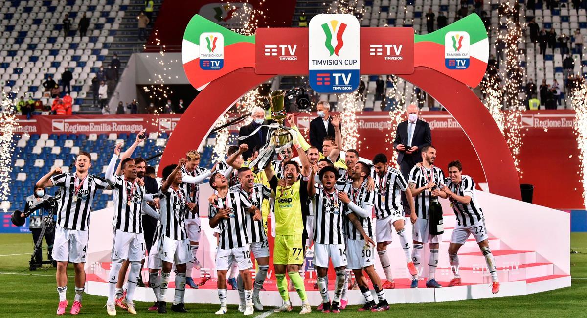 Juventus, con Dybala, salió campeón de la Copa Italia