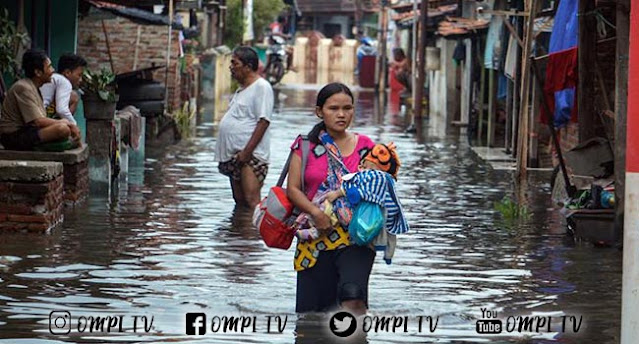 6.619 Jiwa Terdampak Banjir Pekalongan