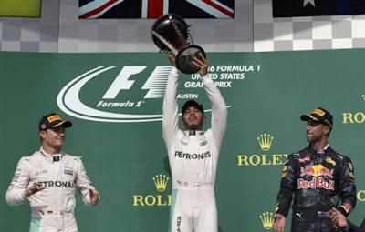 Ο Χάμιλτον νικητής στο Grand Prix των ΗΠΑ