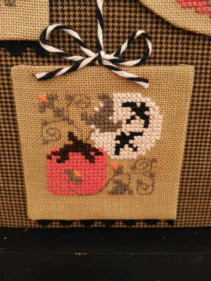 full moon, the drawn thread, punto cruz, cross stitch, point croix, halloween, otoño, autumn, fall, automne