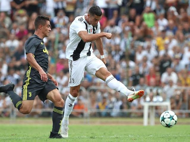 Gol Pertama Ronaldo untuk Juventus