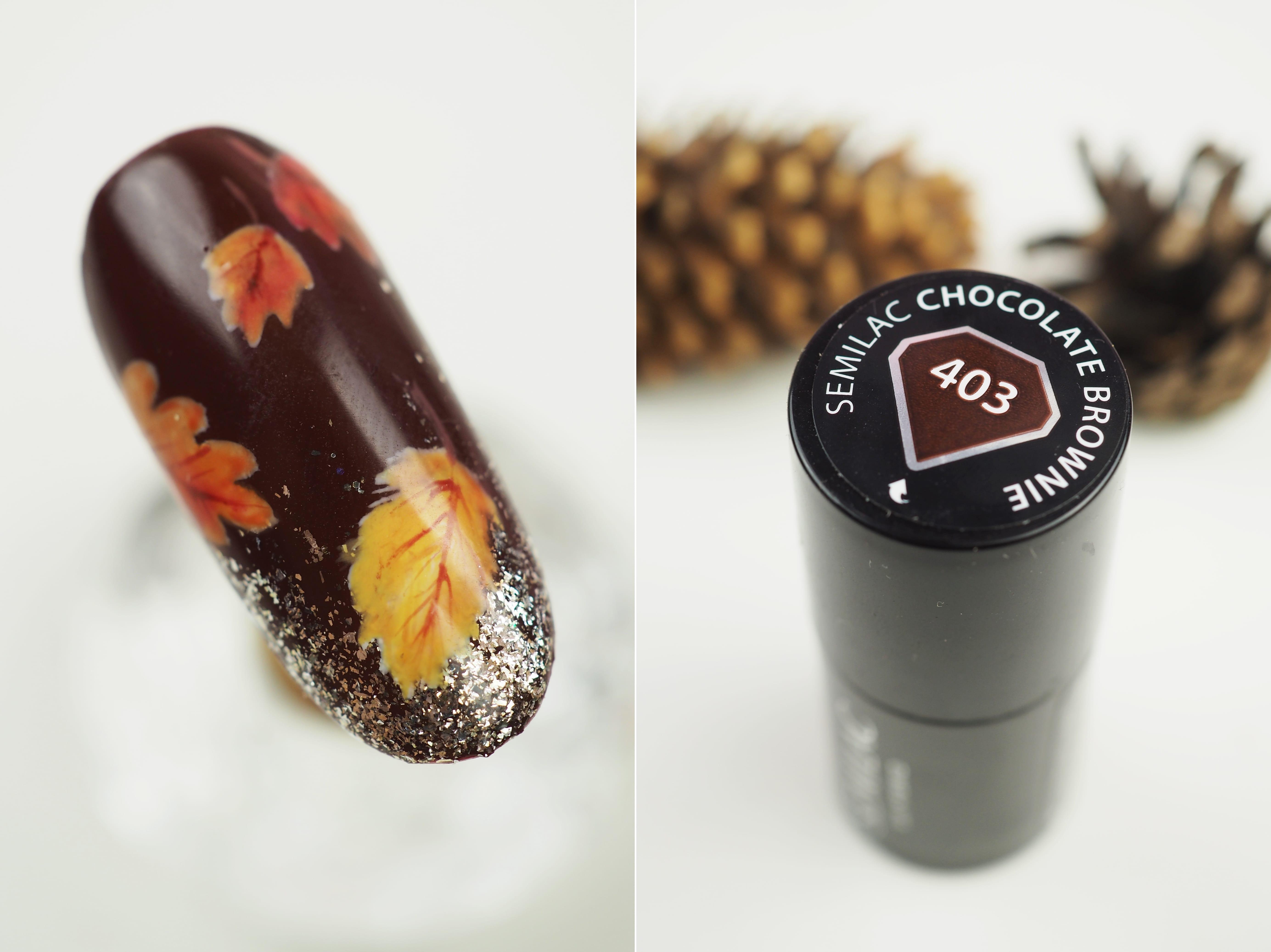 403 Chocolate Brownie semilac