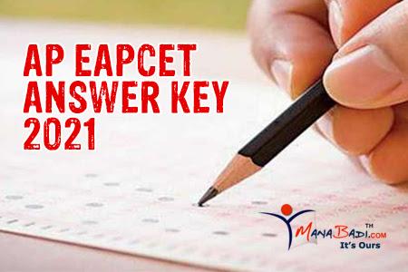 AP Eapcet Preliminary Key 2021