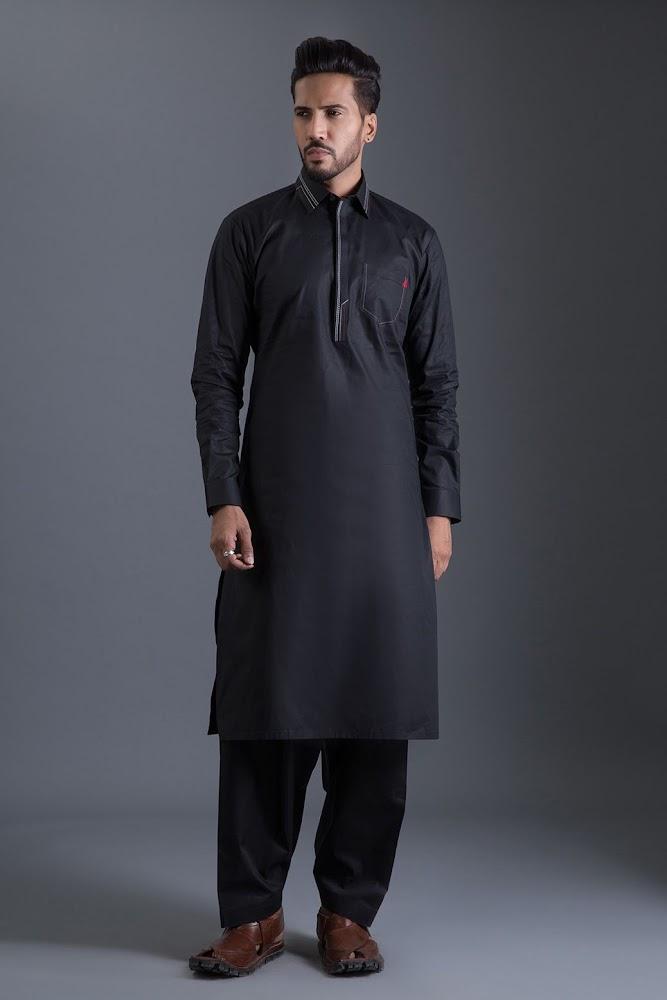 Bonanza Satrangi Black Lawn suit