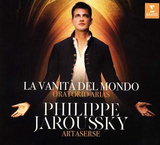 La vanita del mondo - Italian oratorio arias; Philippe Jaroussky, Ensemble Artaserse; ERATO