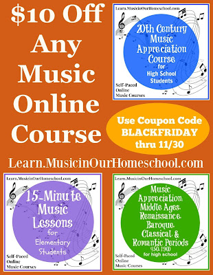 Music classes Black Friday