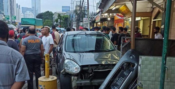 Ini Alasan Polisi Tak Menahan Pengemudi Mobil Nissan March, Penabrak Tukang Ketoprak dan Pejalan Kaki di Tanah Abang