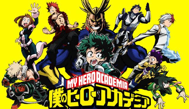 Anime boku no hero