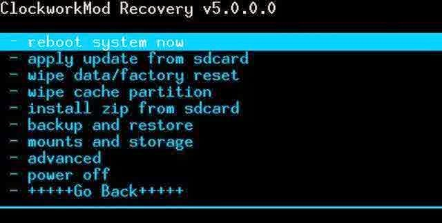 Recovery Mode<a href='http://perilian.blogspot.com/2013/11/tips-dan-trik-android-terbaru.html/'> android</a>
