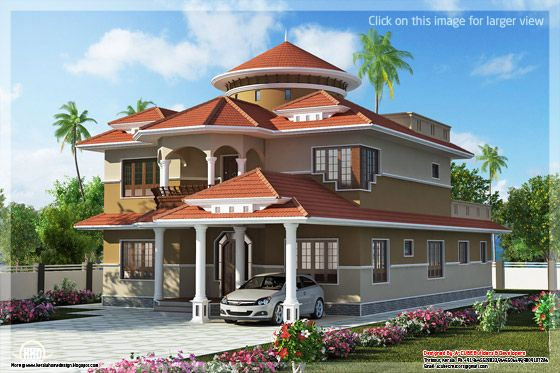 Beautiful Dream Home Design In 2800 Sq Feet Kerala House