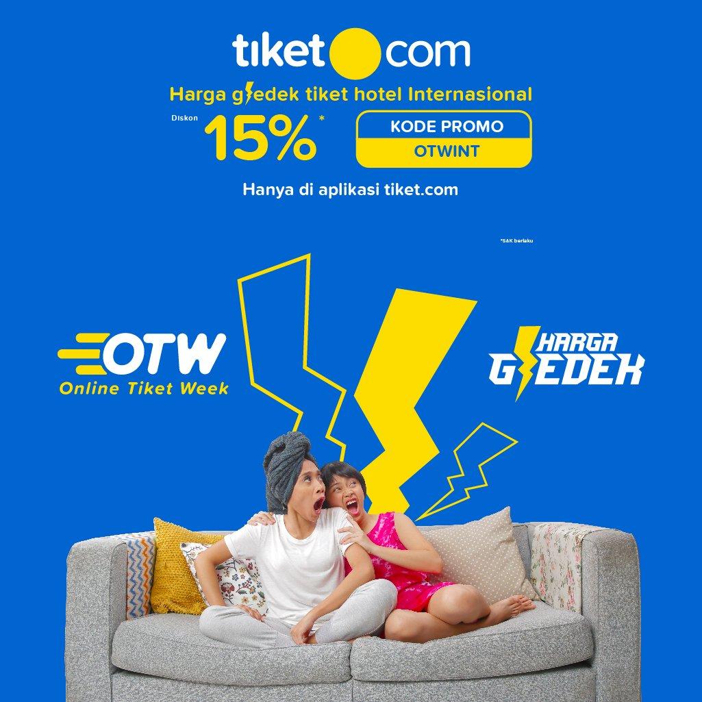 Tiket.com - Promo Voucher Diskon 15% Hotel Internasional (s.d 5 Des 2018)