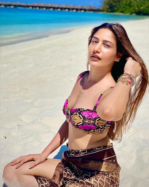 Surbhi Chandna's Maldives Bikini Photos Actress Trend