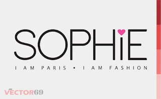 Logo Sophie Paris Baru 2018 - Download Vector File PDF (Portable Document Format)