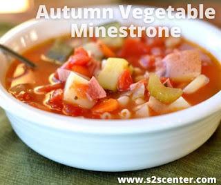 Autumn Vegetable Minestrone