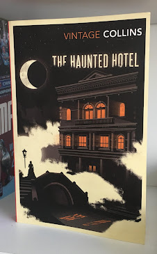 A recent edition of The Haunted Hotel by Collins Vintage
