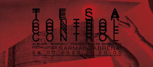 tesa, capital r, riga, control, concert, 2020